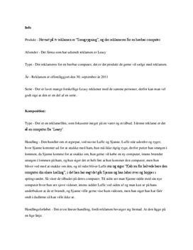Smugrygning | Analyse
