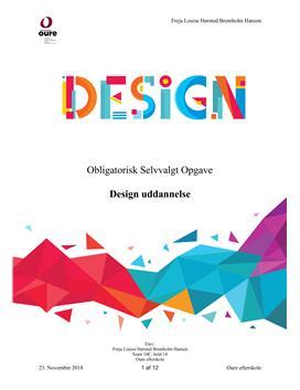 OSO om design