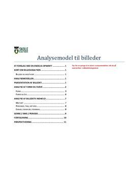 Billedanalyse - Model til analyse af billeder i Dansk FSA