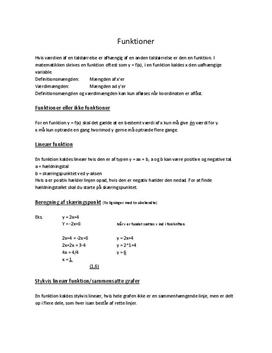 Noter til FP10 matematikeksamen