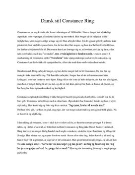 constance ring resume