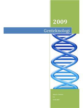 Projektopgave om genteknologi