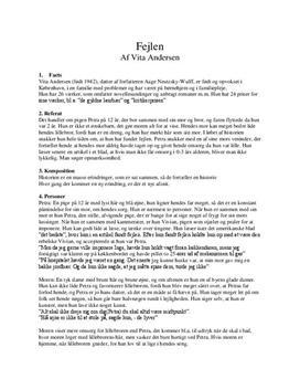 analysemodel novelle folkeskolen