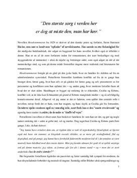 Hosekræmmeren af St. St. Blicher | Analyse & Fortolkning