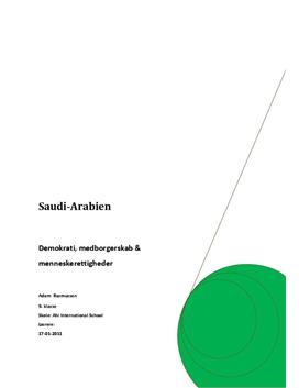 Projektopgave om Saudi Arabien