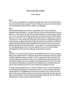Den Kroniske Uskyld | Resume af hvert kapitel