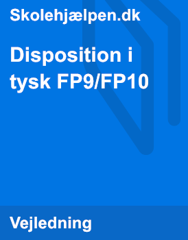 Disposition i tysk FSA/FS10